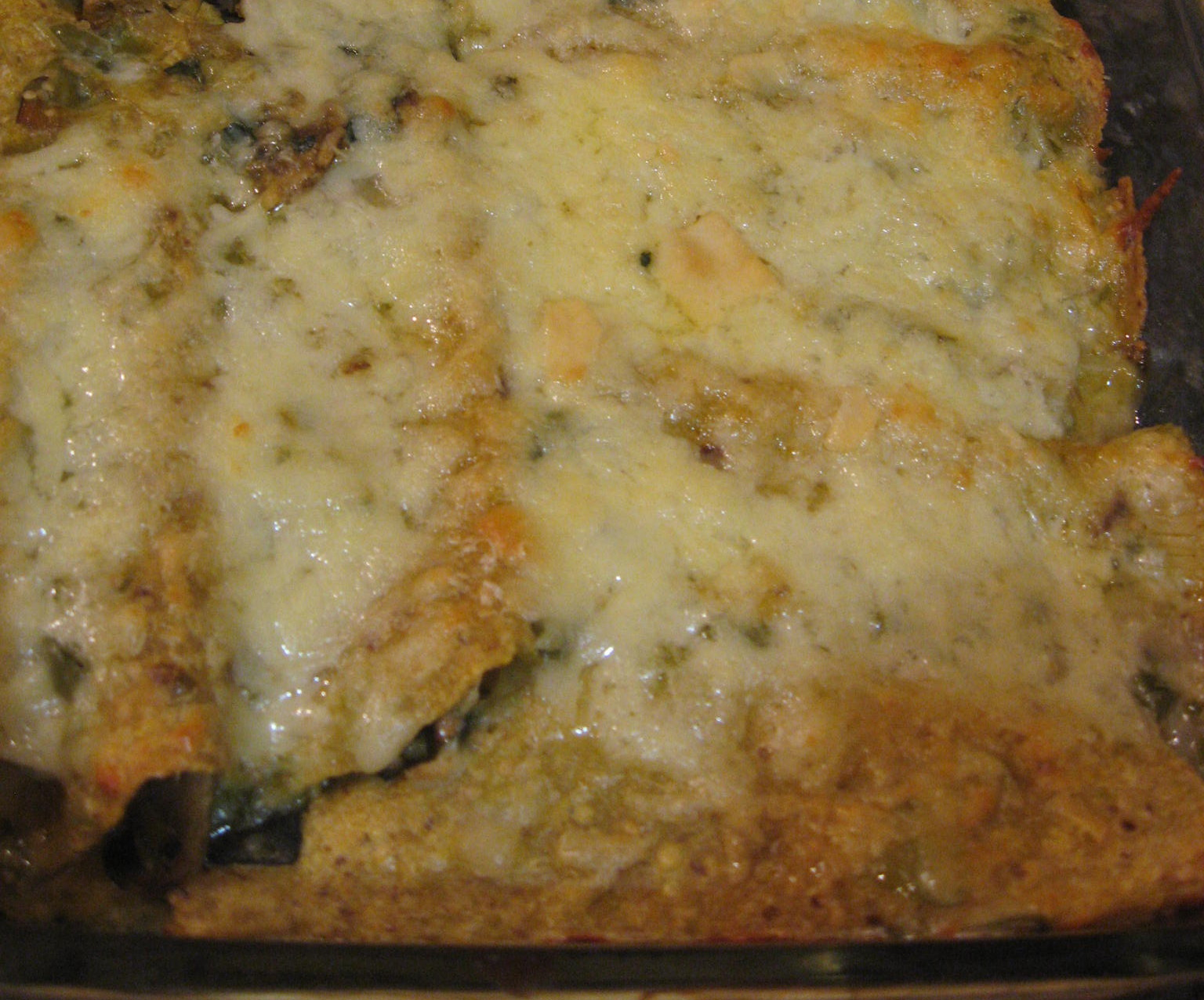 Chicken-Filled Enchiladas With Tangy Tomatillo Sauce ...