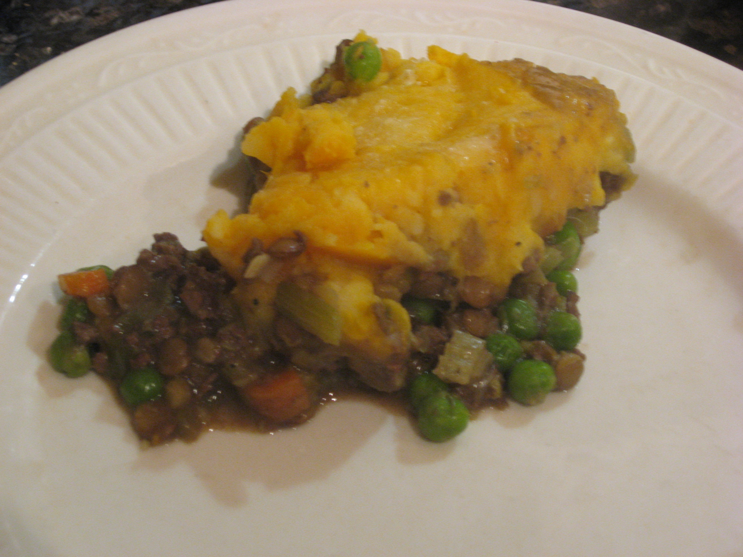 Beef Heart and Lentil Shepherd's Pie with Butternut Squash Topping ...